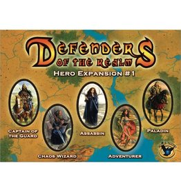 EAGLE GAMES DEFENDERS OF THE REALM HERO EXPANSION #1