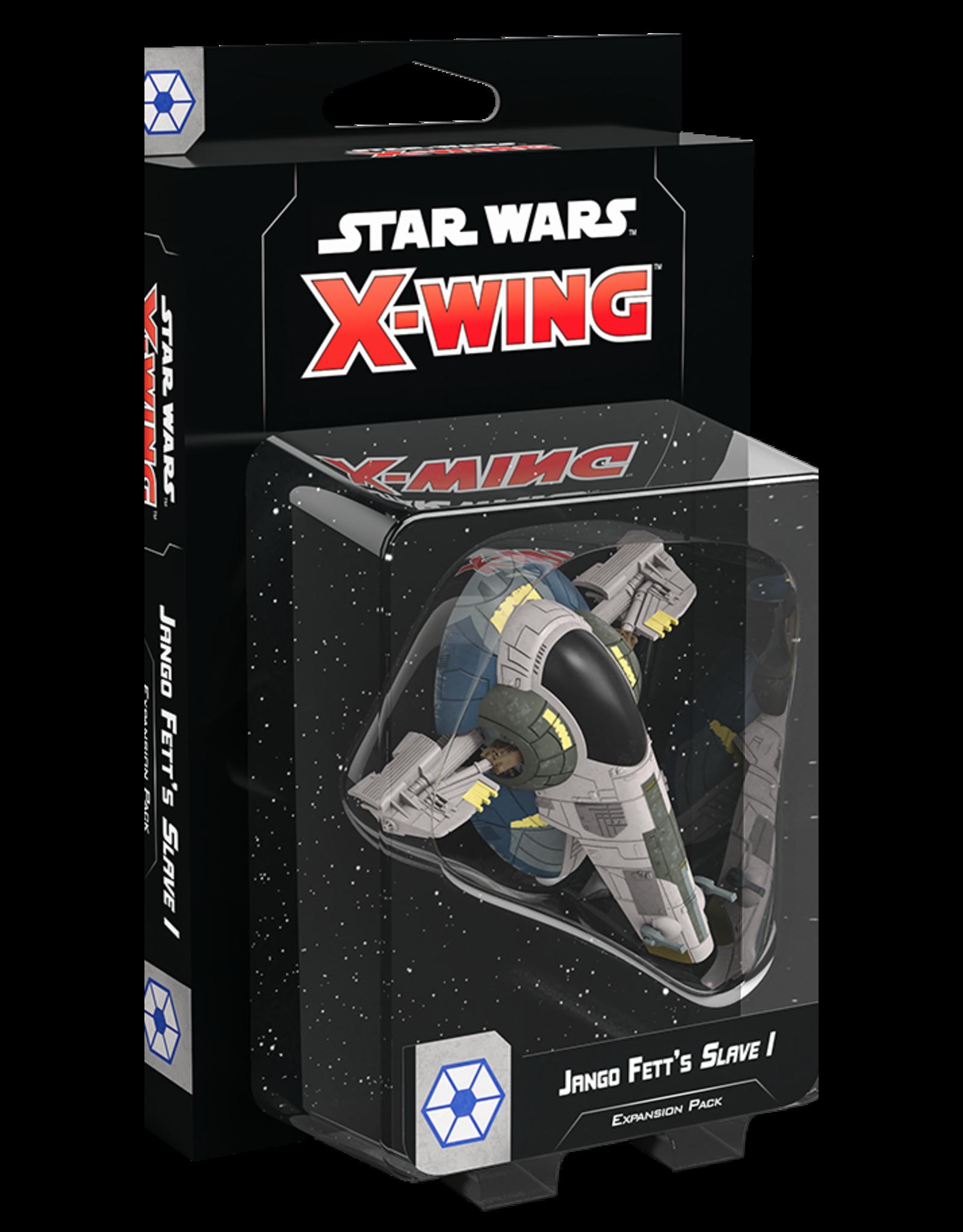 FANTASY FLIGHT GAMES STAR WARS X-WING 2ND ED: JANGO FETT'S SLAVE 1 PRE-ORDER