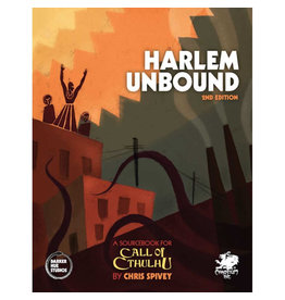 CHAOSIUM GAMES INC CALL OF CTHULHU HARLEM UNBOUND 2ND EDITION