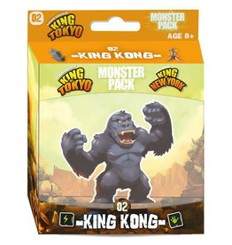 IELLO KING OF TOKYO 2E MONSTER PACK KING KONG