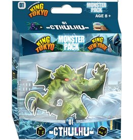 IELLO KING OF TOKYO MONSTER PACK 01 CTHULHU