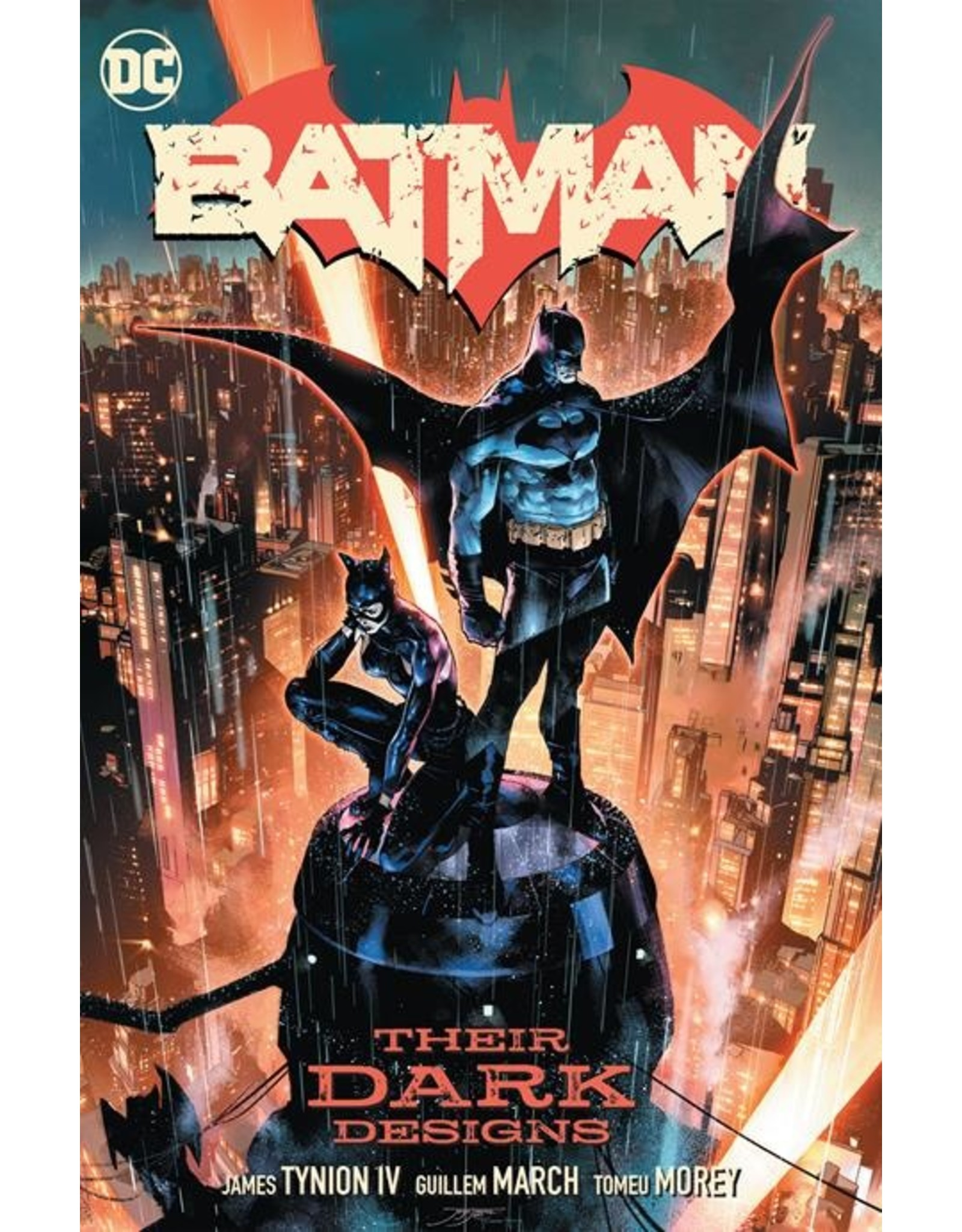 DC COMICS BATMAN VOL 01 THEIR DARK DESIGNS HC