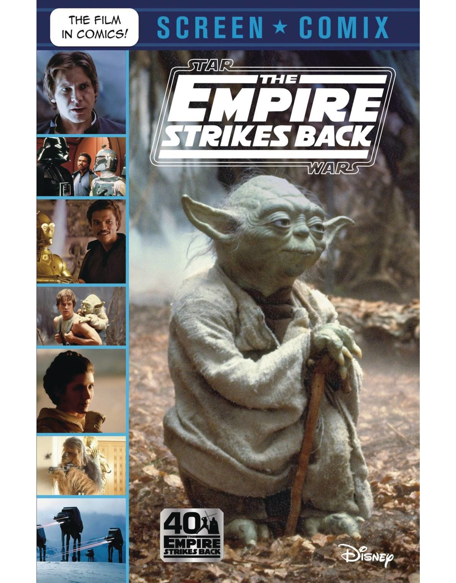 STAR WARS EMPIRE STRIKES BACK SCREEN COMIX