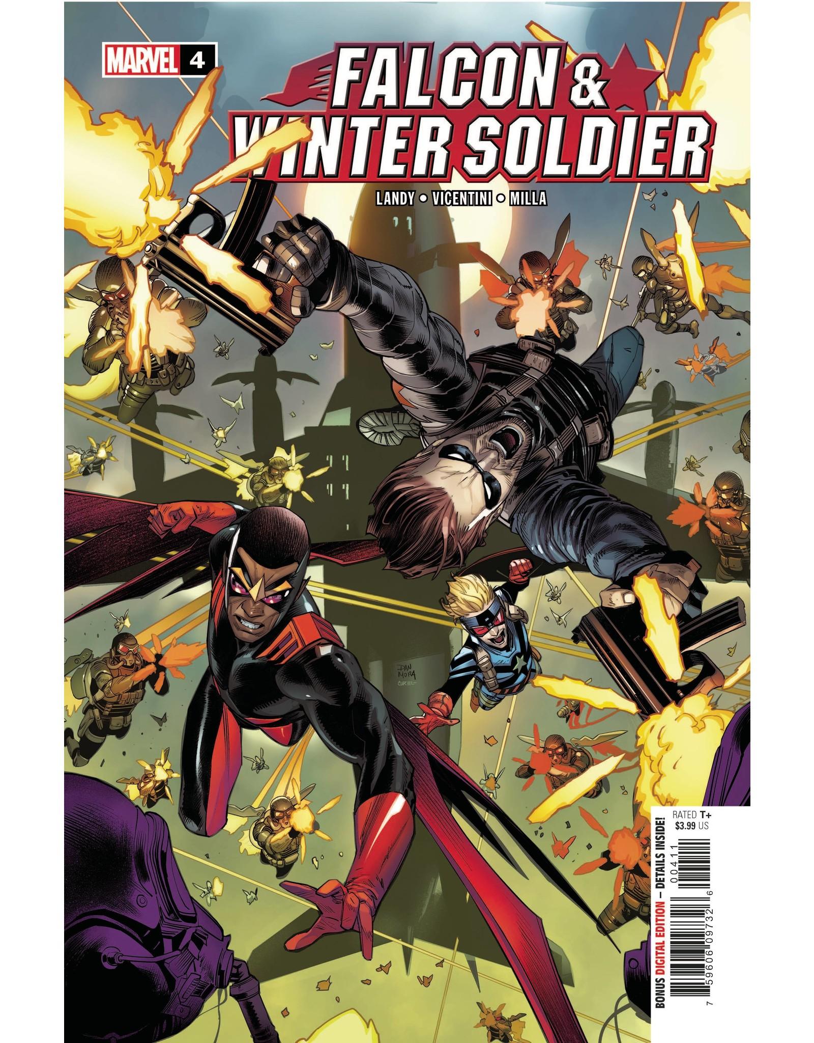 MARVEL COMICS FALCON & WINTER SOLDIER #4 (OF 5)