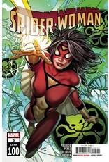 MARVEL COMICS SPIDER-WOMAN #5 GREG LAND CVR