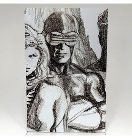 MARVEL COMICS X-MEN #13 1:100 ALEX ROSS CYCLOPS TIMELESS VIRGIN SKETCH VAR XOS