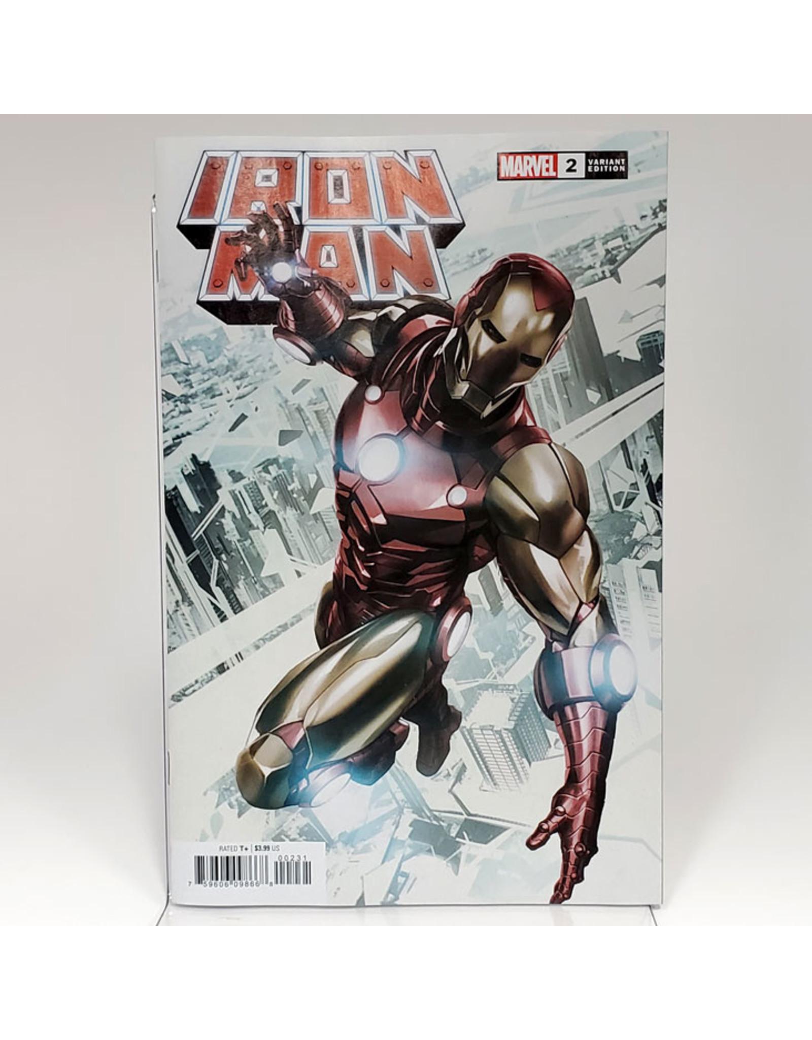 MARVEL COMICS IRON MAN #2 1:25 SKAN VAR