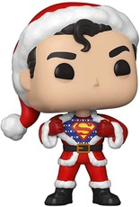 FUNKO POP HEROS SUPERMAN IN HOLIDAY SWEATER