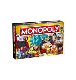 USAOPOLY MONOPOLY DRAGON BALL SUPER UNIVERSE SURVIVAL
