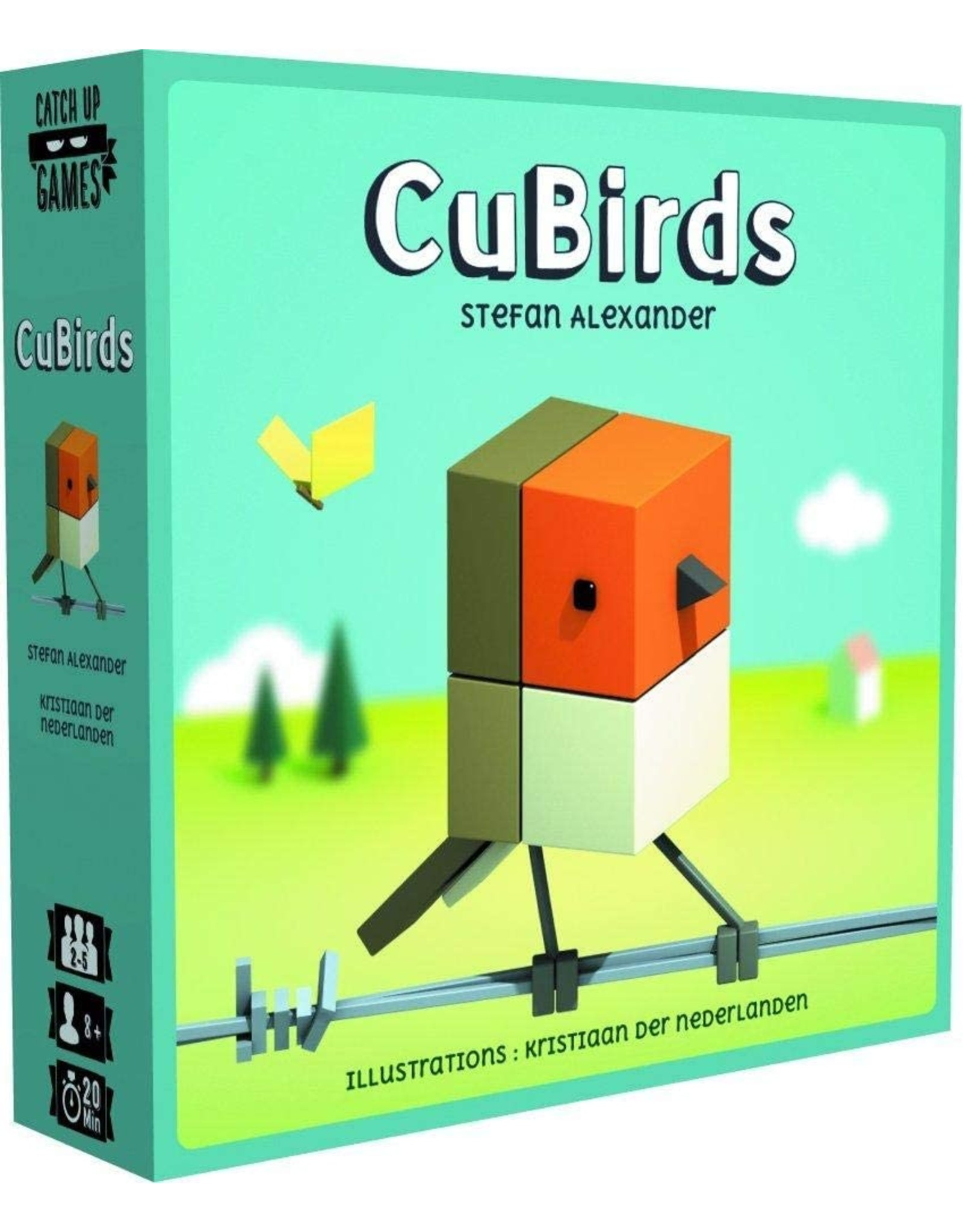ULTRA PRO CUBIRDS GAME