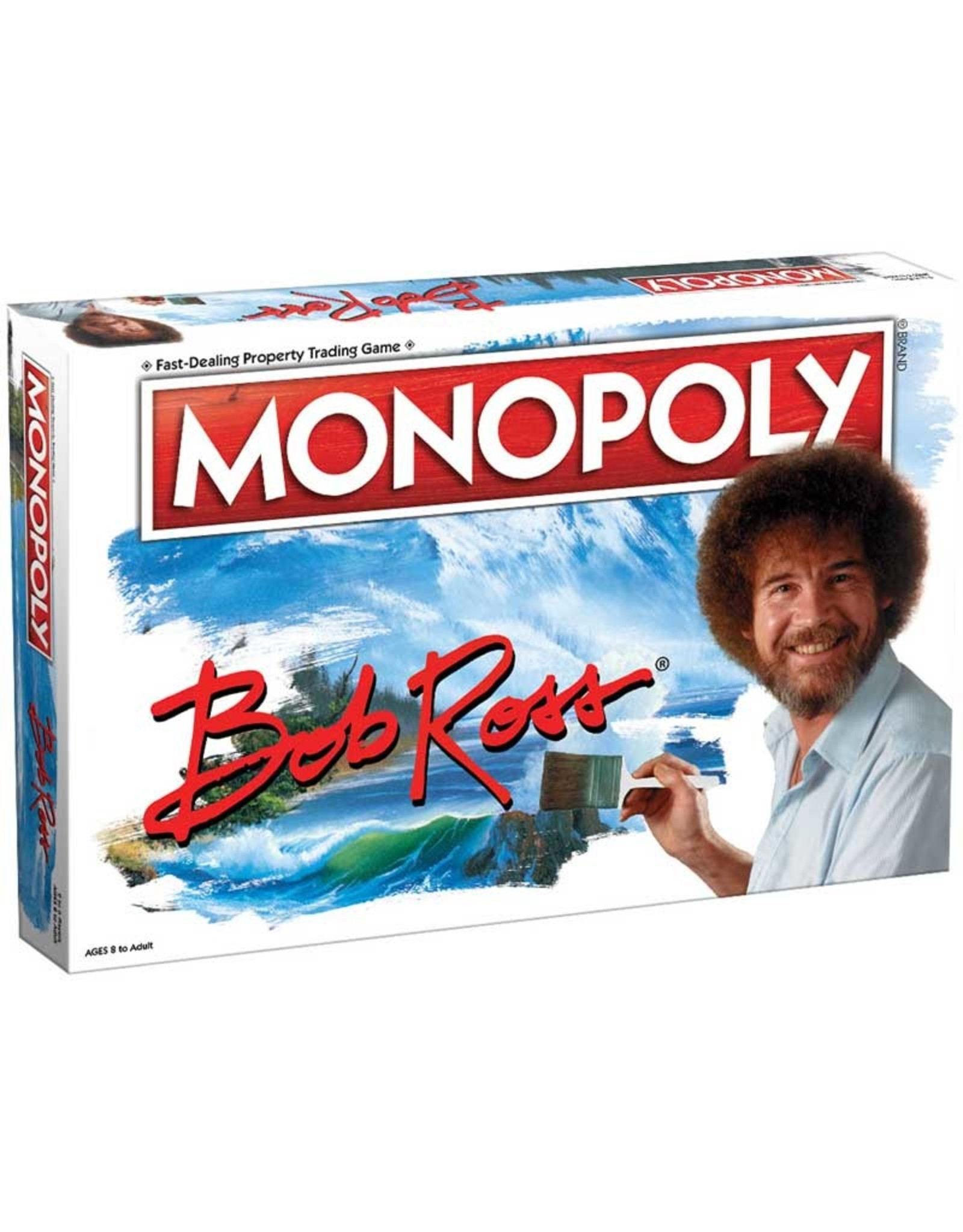 USAOPOLY MONOPOLY BOB ROSS