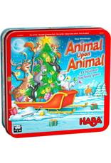 HABA GAMES ANIMAL UPON ANIMAL XMAS GAME