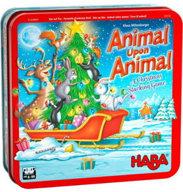 HABA GAMES ANIMAL UPON ANIMAL XMAS GAME