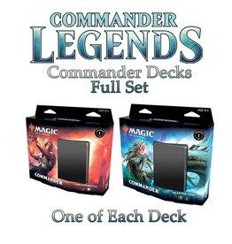 WIZARDS OF THE COAST COMMANDER LEGENDS COMMANDER DECKS SET PRE-ORDER