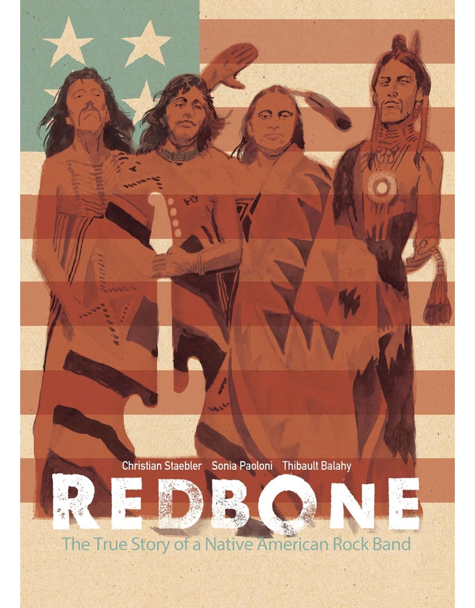 IDW PUBLISHING REDBONE TRUE STORY NATIVE AMERICAN ROCK BAND GN