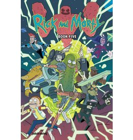 ONI PRESS INC. RICK AND MORTY HC BOOK 05 DLX ED