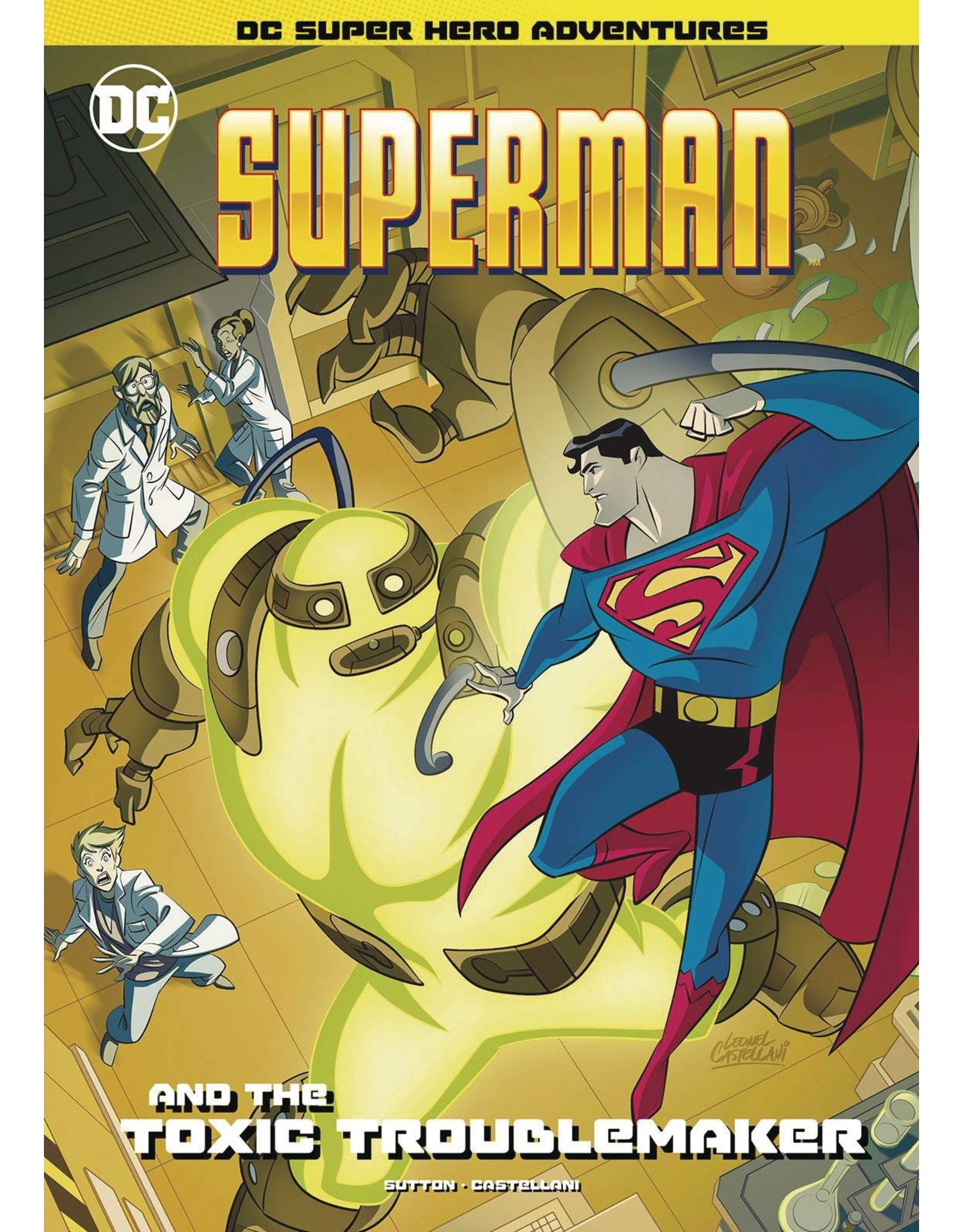 STONE ARCH BOOKS SUPERMAN & TOXIC TROUBLEMAKER YR SC