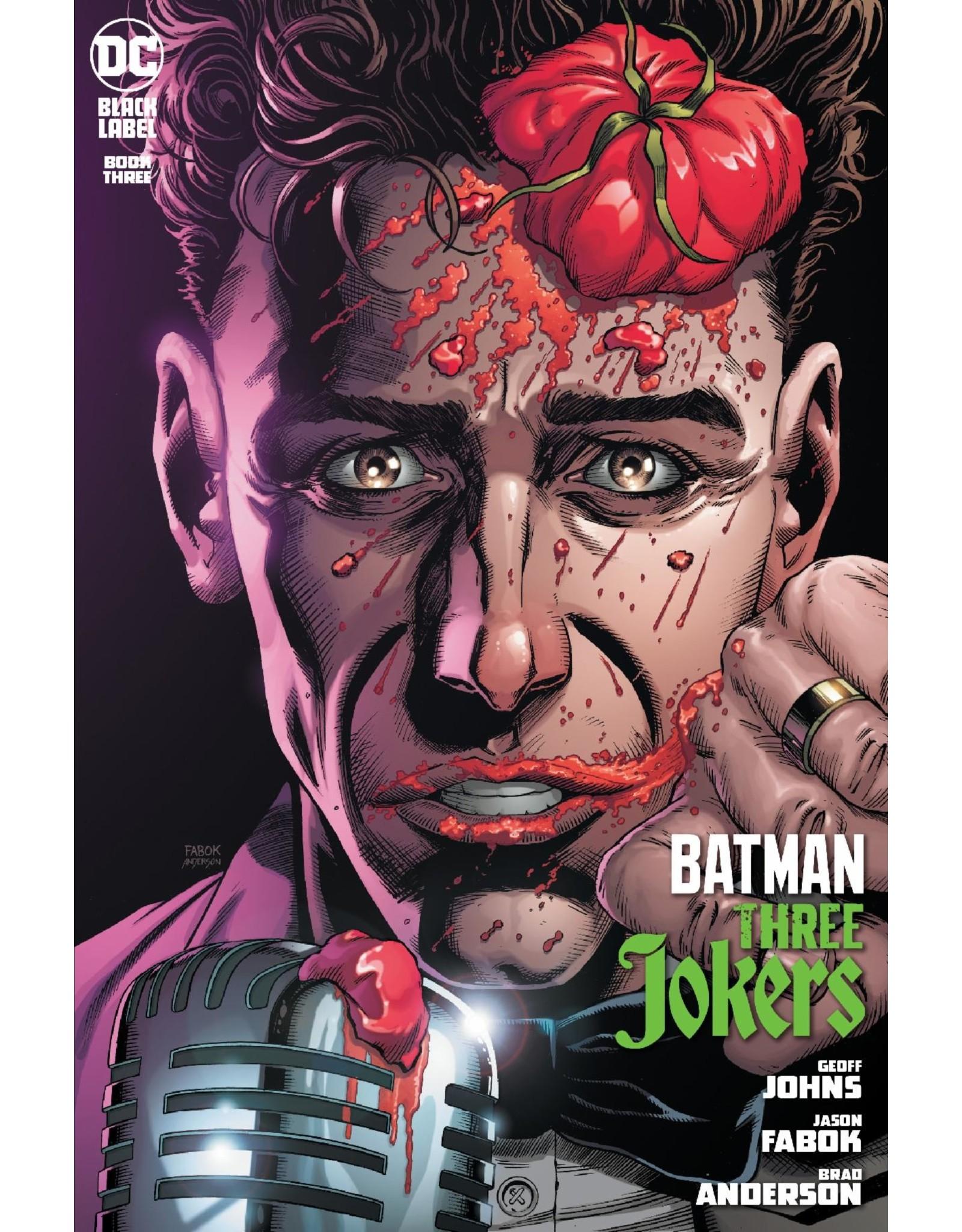 DC COMICS BATMAN THREE JOKERS #3 (OF 3) PREM CVR H STAND UP COMEDIAN