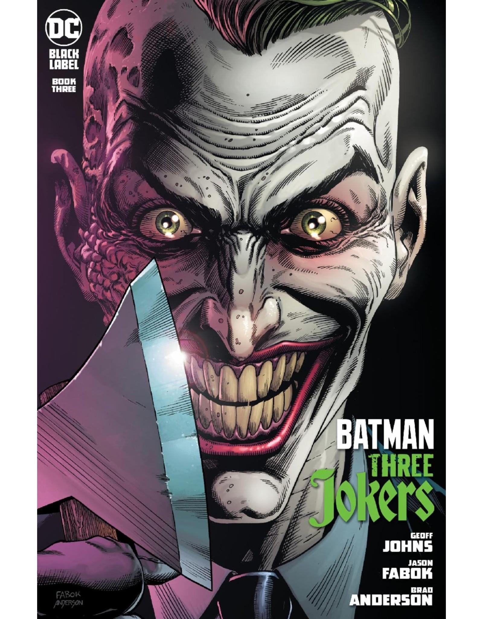 DC COMICS BATMAN THREE JOKERS #3 (OF 3) PREM CVR I ENDGAME MOHAWK