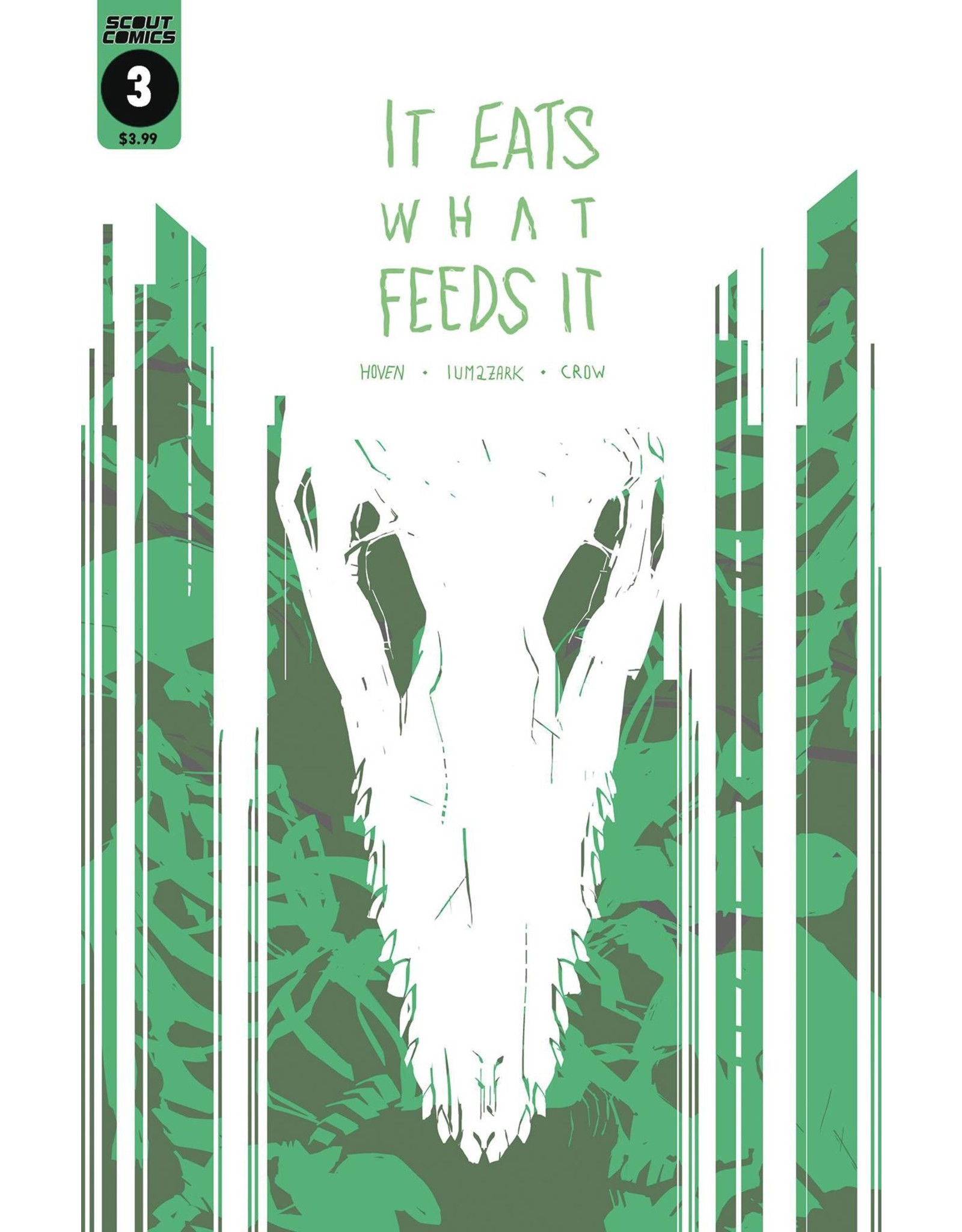 SCOUT COMICS IT EATS WHAT FEEDS IT #3