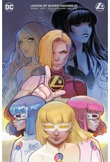 DC COMICS LEGION OF SUPER-HEROES #10 CVR B DARKO LAFUENTE VAR