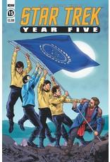 IDW PUBLISHING STAR TREK YEAR FIVE #15 CVR A THOMPSON