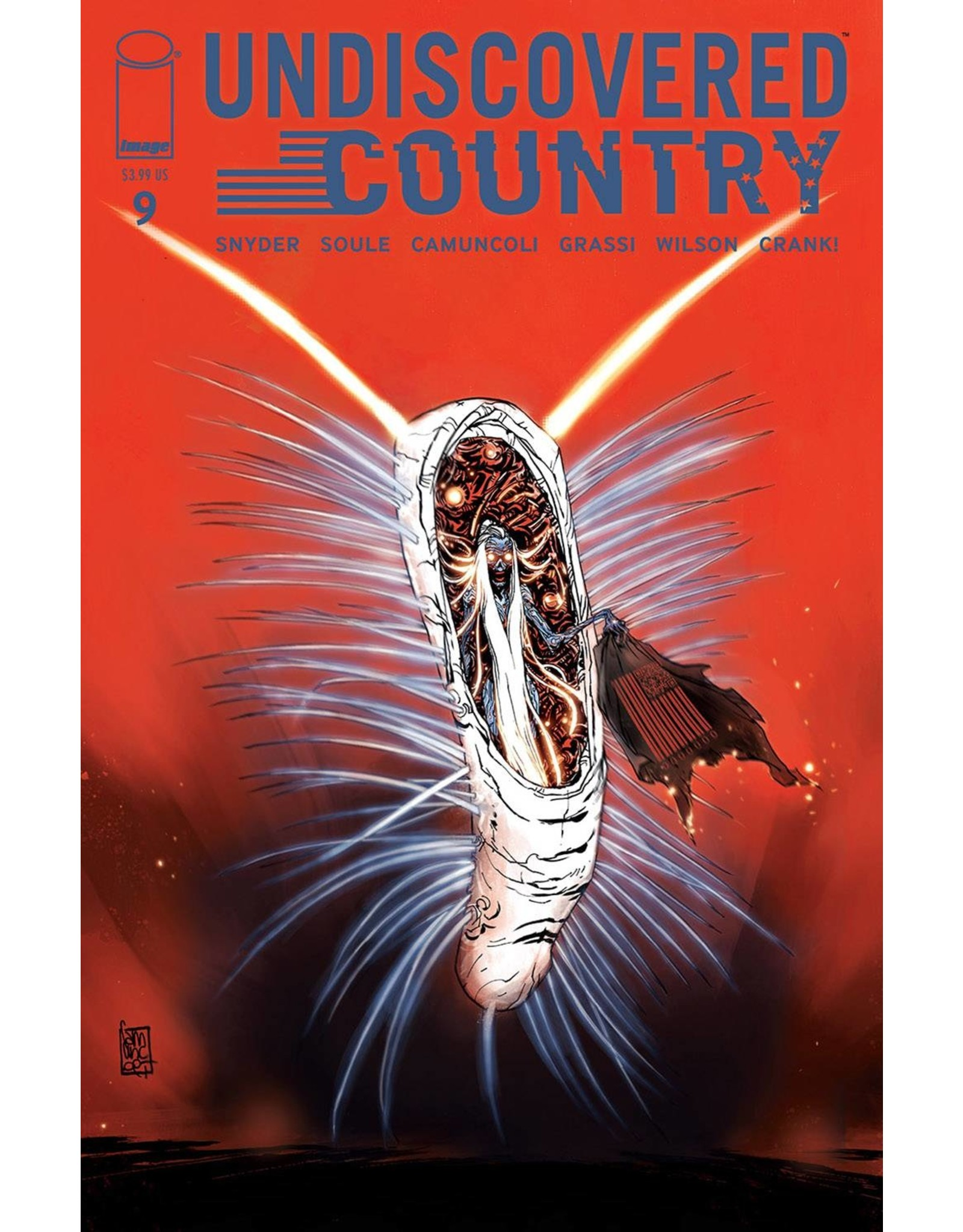IMAGE COMICS UNDISCOVERED COUNTRY #9 CVR A CAMUNCOLI