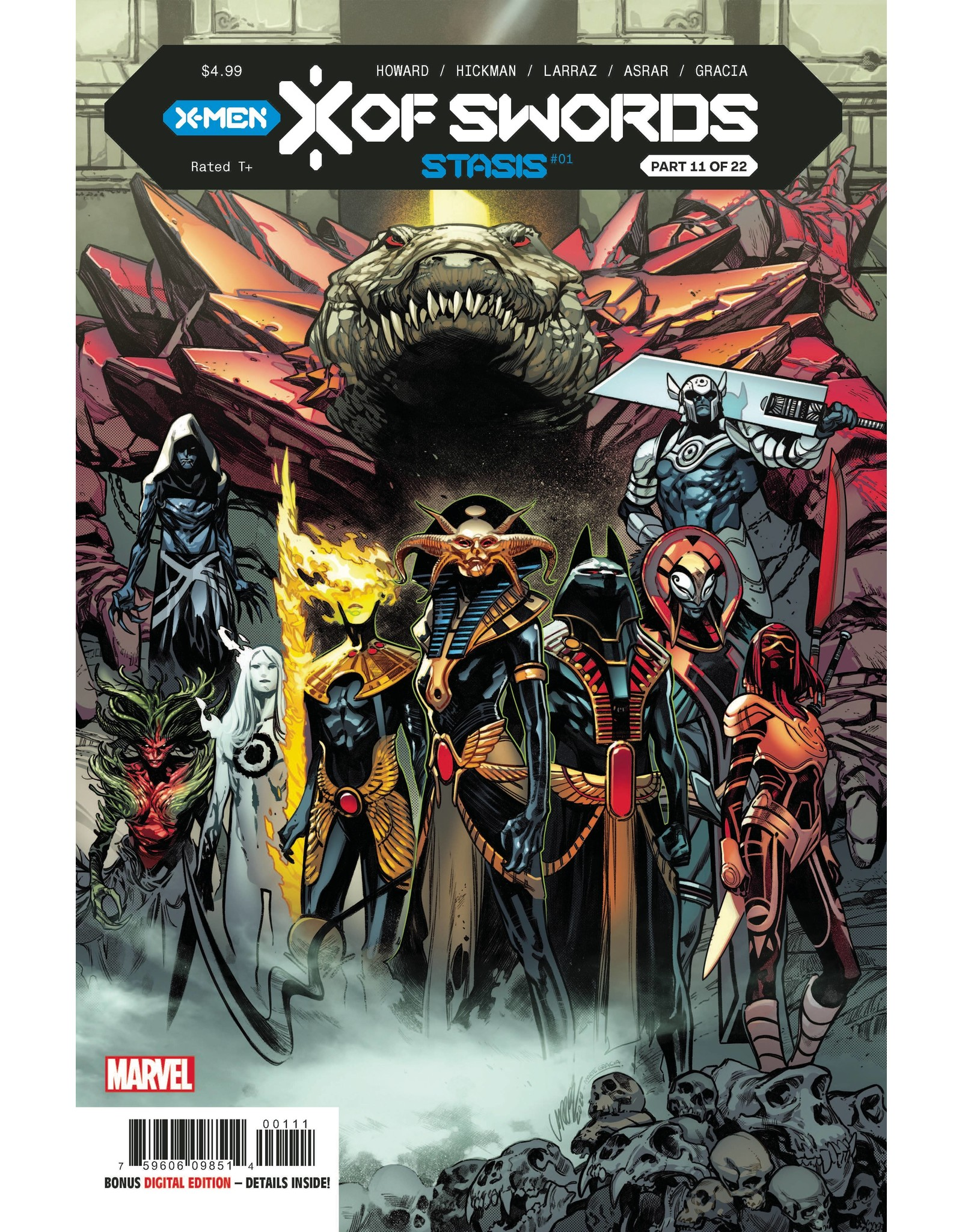 MARVEL COMICS X OF SWORDS STASIS #1