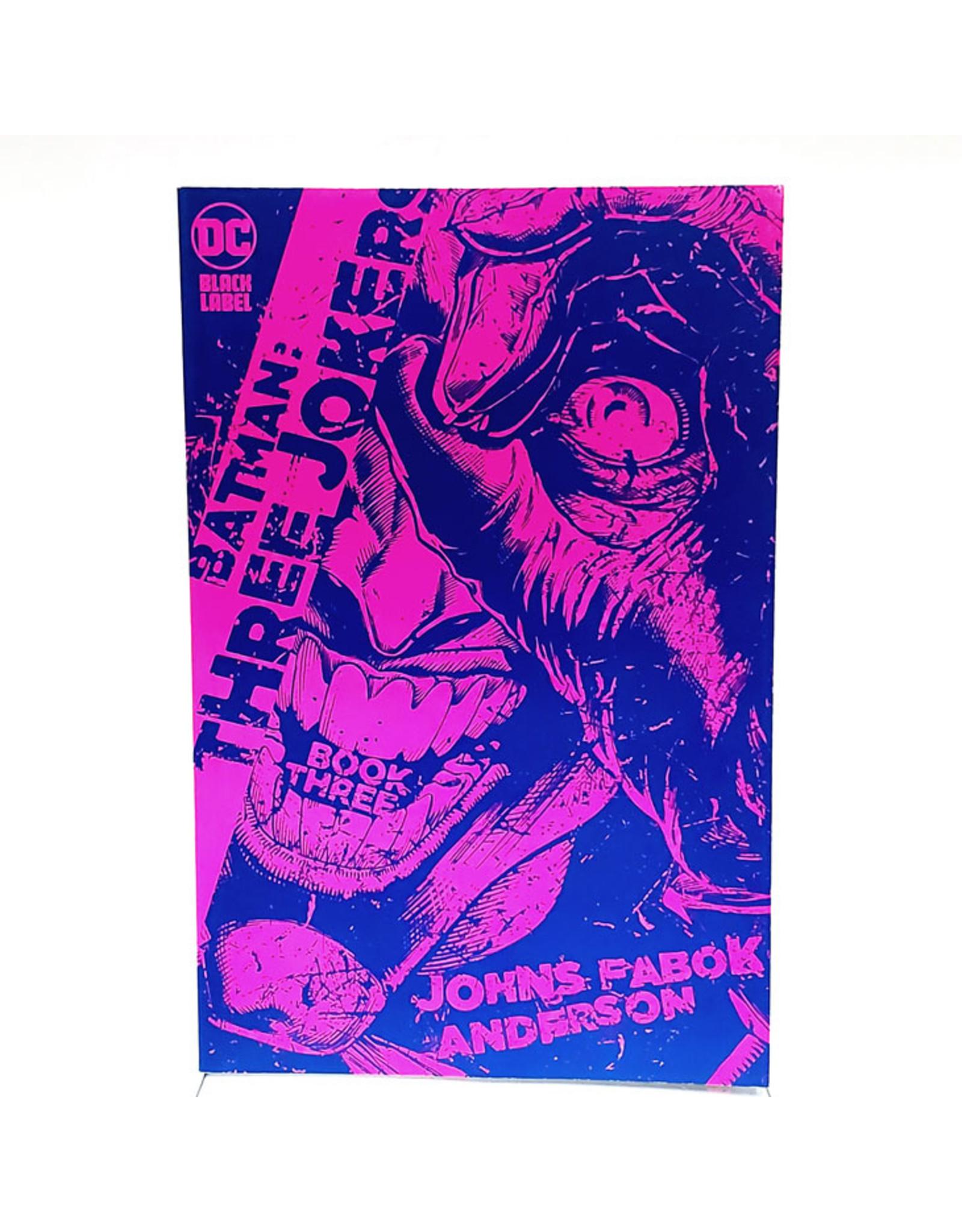 DC COMICS BATMAN THREE JOKERS #3 (OF 3) 1:25 JASON FABOK PURPLE VARIANT