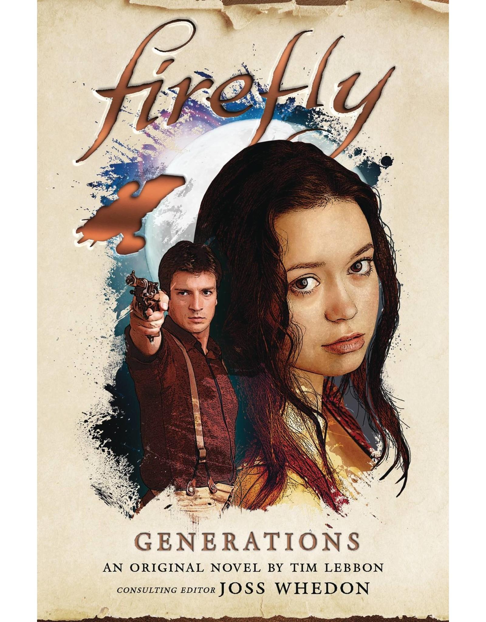 TITAN BOOKS FIREFLY GENERATIONS HC