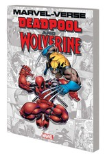 MARVEL COMICS MARVEL-VERSE DEADPOOL AND WOLVERINE GN TP
