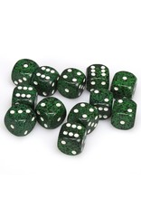 CHESSEX CHX 25725 16MM D6 DICE BLOCK SPECKLED RECON