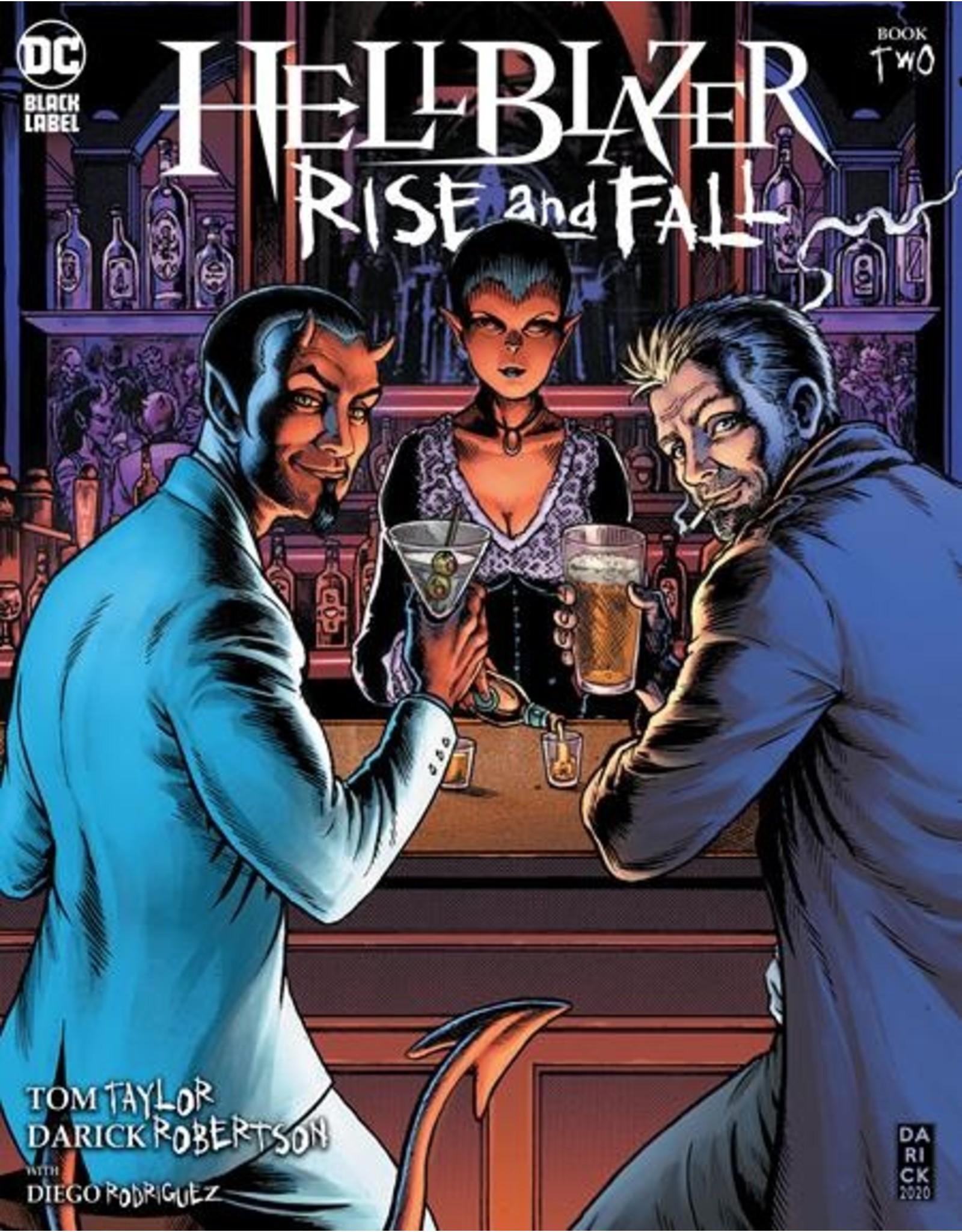 DC COMICS HELLBLAZER RISE AND FALL #2 (OF 3) CVR A DARICK ROBERTSON