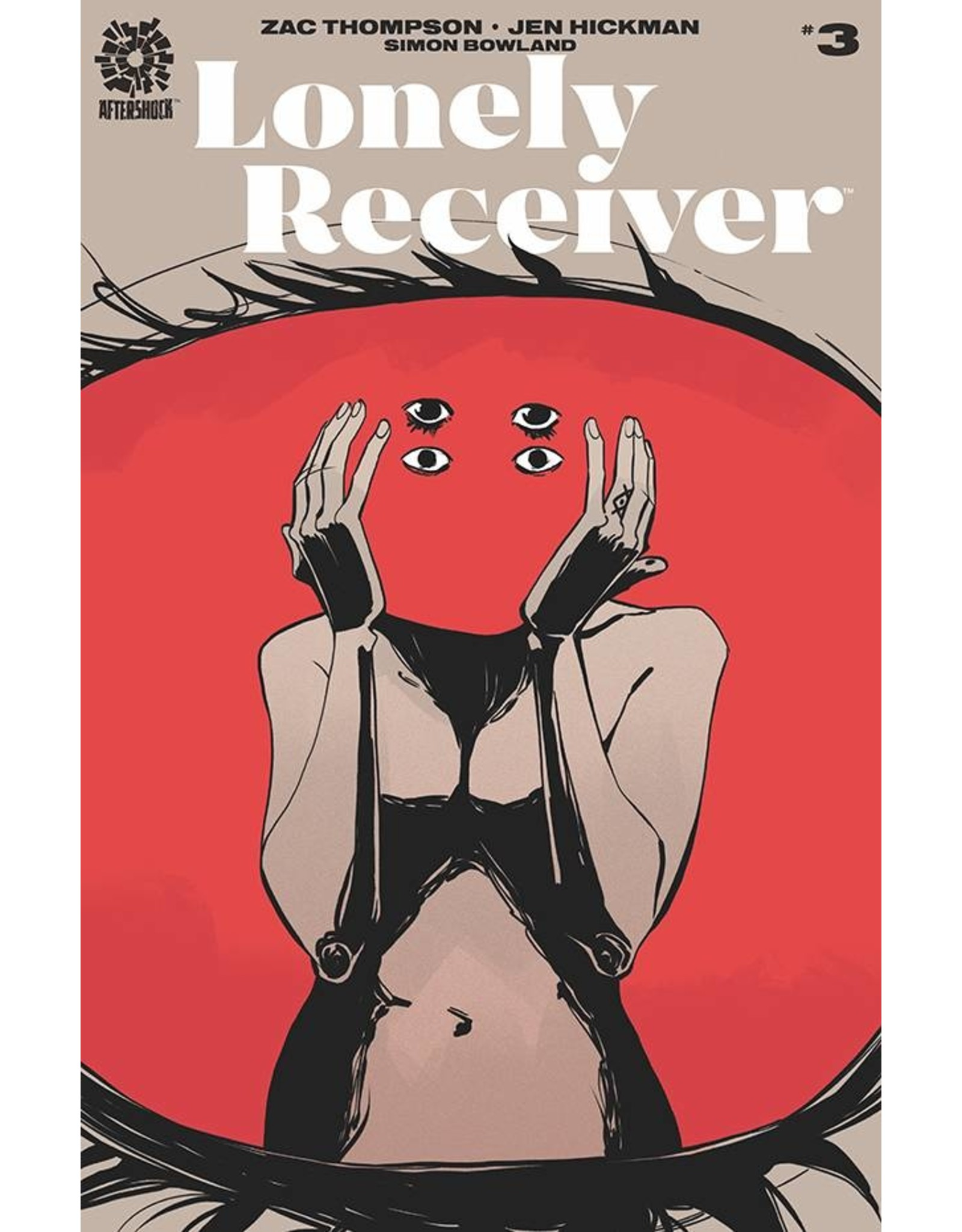 AFTERSHOCK COMICS LONELY RECEIVER #3