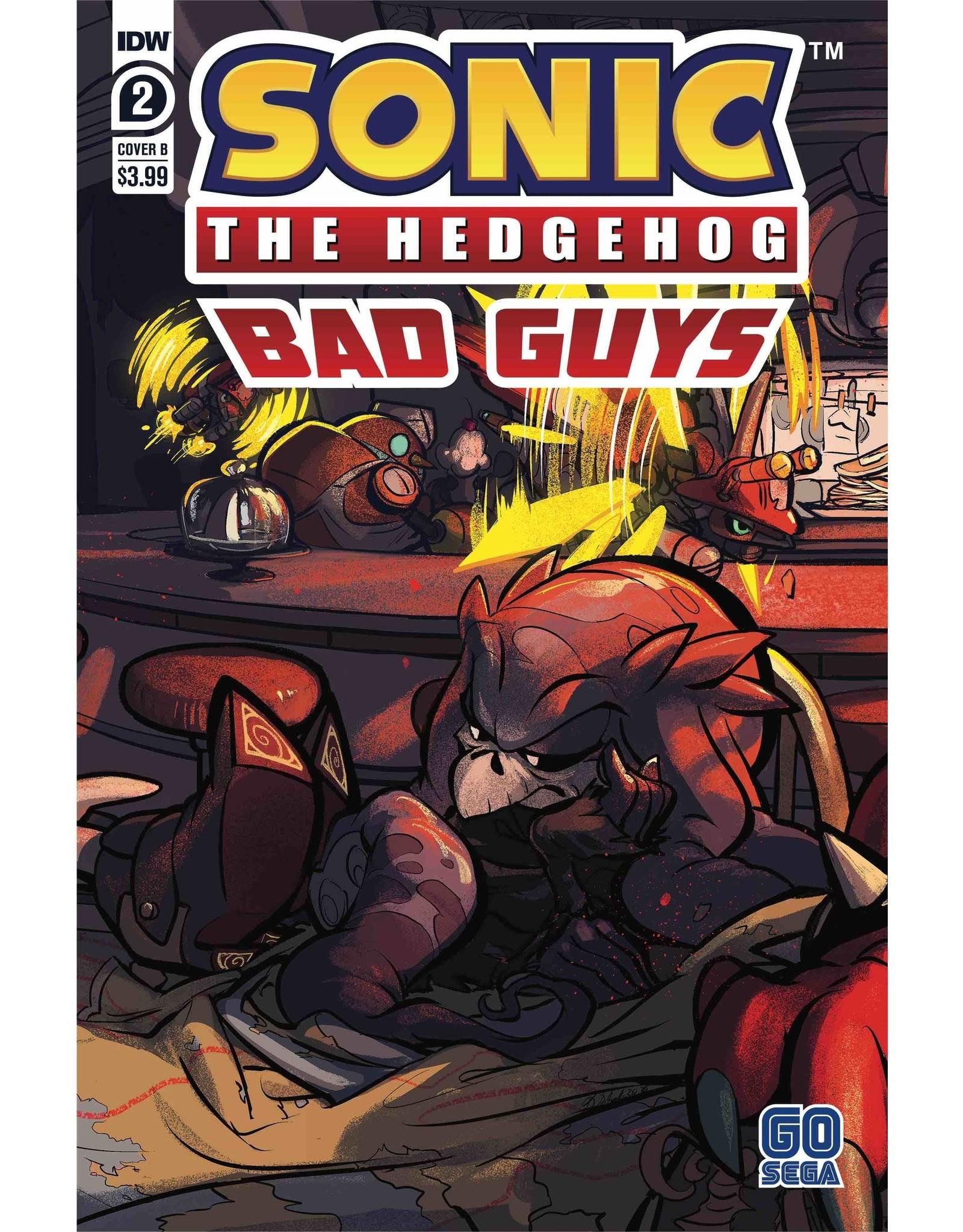 IDW PUBLISHING SONIC THE HEDGEHOG BAD GUYS #2 (OF 4) CVR B SKELLY