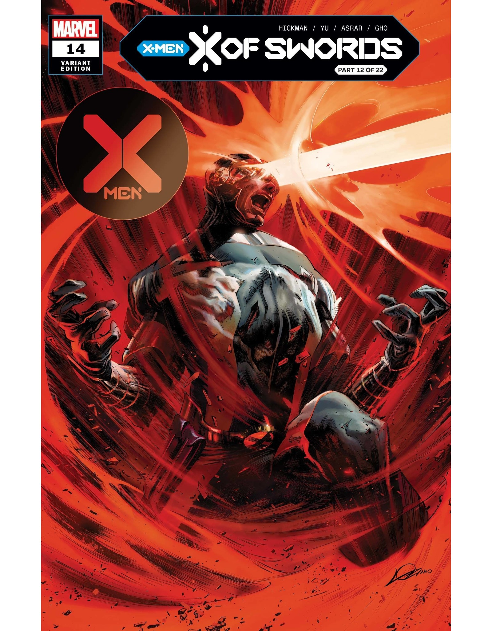 MARVEL COMICS X-MEN #14 LOZANO VAR XOS