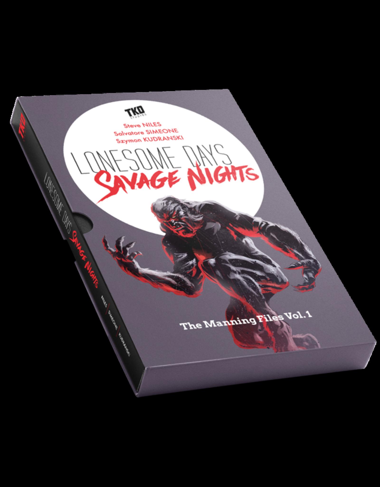 LONESOME DAYS SAVAGE NIGHTS SIX ISSUE BOX SET
