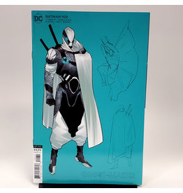 DC COMICS BATMAN #102 1:25 JORGE JIMENEZ GHOST-MAKER CARD STOCK VAR