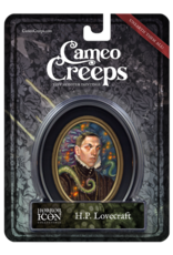 CAMEOCREEPS H.P. LOVECRAFT MINI CAMEO PORTRAIT