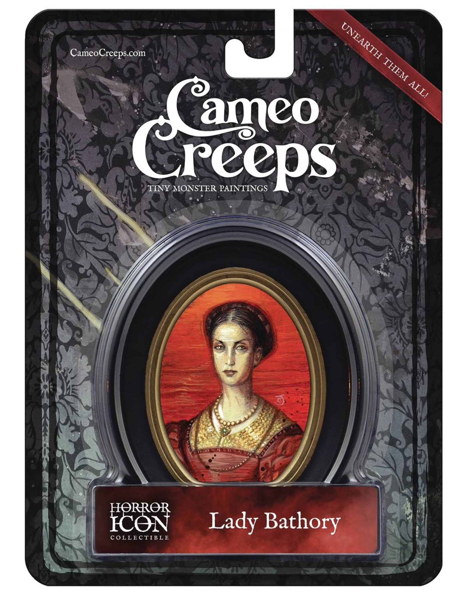 CAMEOCREEPS LADY BATHORY MINI CAMEO PORTRAIT