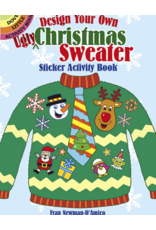 DOVER PUBLICATIONS DESIGN YOUR OWN UGLY XMAS SWEATER