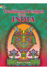 DOVER PUBLICATIONS TRADITIONAL DESIGNS FROM INDIA COLORING BOOK