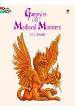 DOVER PUBLICATIONS GARGOYLES AND MEDIEVAL MONSTERS COLORING BOOK