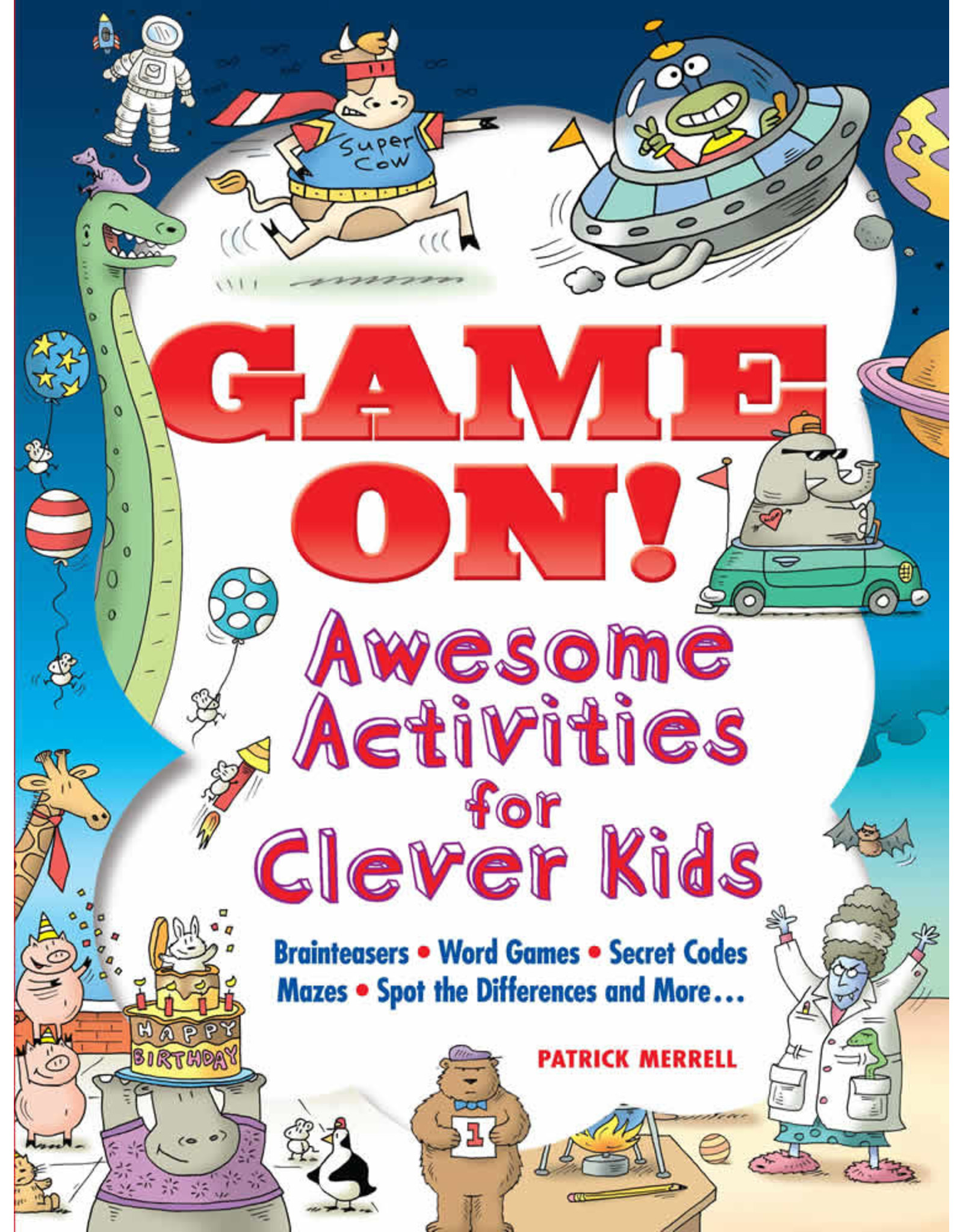 DOVER PUBLICATIONS GAME ON! AWESOME ACTIVITIES FOR CLEVER KIDS