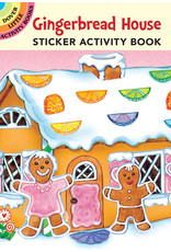 DOVER PUBLICATIONS GINGERBREAD HOUSE STICKER ACTIVITY BOOK