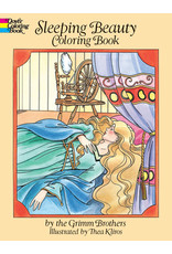 DOVER PUBLICATIONS SLEEPING BEAUTY COLORING BOOK