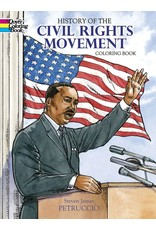 DOVER PUBLICATIONS HISTORY OF THE CIVIL RIGHTS MOVEMENT COLORING BOOK