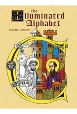 DOVER PUBLICATION THE ILLUMINATED ALPHABET COLORING BOOK