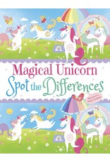 DOVER PUBLICATIONS MAGICAL UNICORN SPOT THE DIFFERENCES