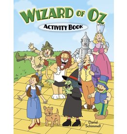DOVER PUBLICATIONS WIZARD OF OZ ACTIVITY BOOK